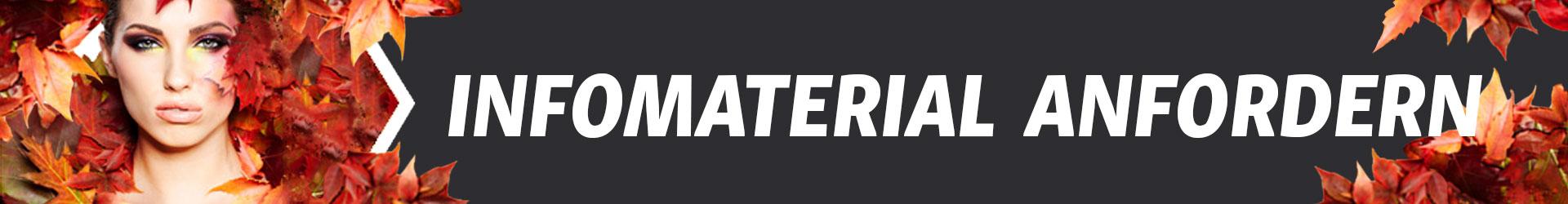 Infomaterial anfordern Banner - Farb- und Stilberater